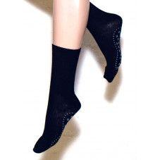 Ulla Black uld skridsikre sokker